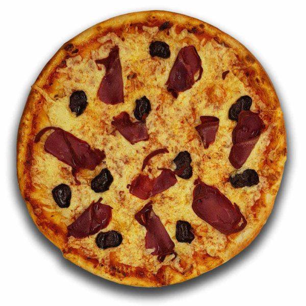 Пицца «Бастурма» премиум 480 гр. Кафе-бар Черри Одинцово