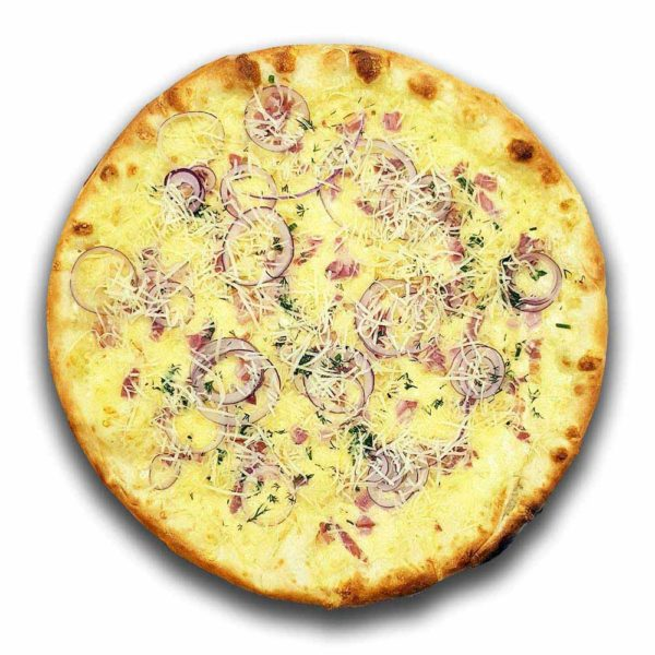 Пицца «Карбонара» премиум 470 гр. Кафе-бар Черри Одинцово