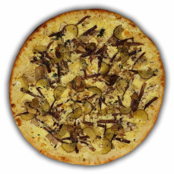 Пицца «Строганов» премиум 520 гр. Кафе-бар Черри Одинцово