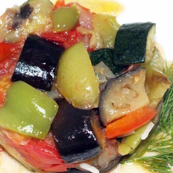 «Овощи жареные» 150 гр. Кафе-бар Черри Одинцово