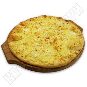 Пицца на итальянском тесте
