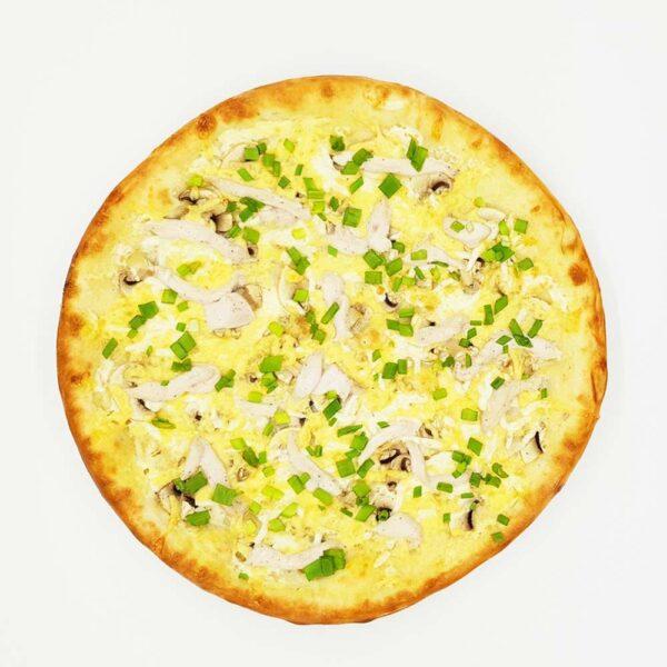 Пицца «Куриный жульен» 490 гр. Кафе-бар Черри Одинцово