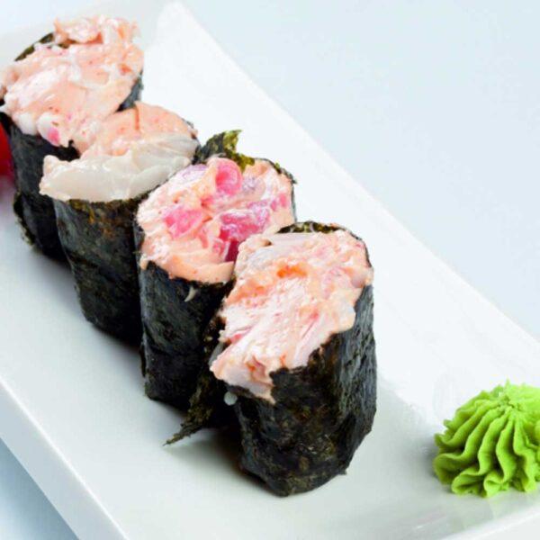 Суши «Гункан Спайси Хотатэ» 40 гр. в кафе-баре Черри Одинцово