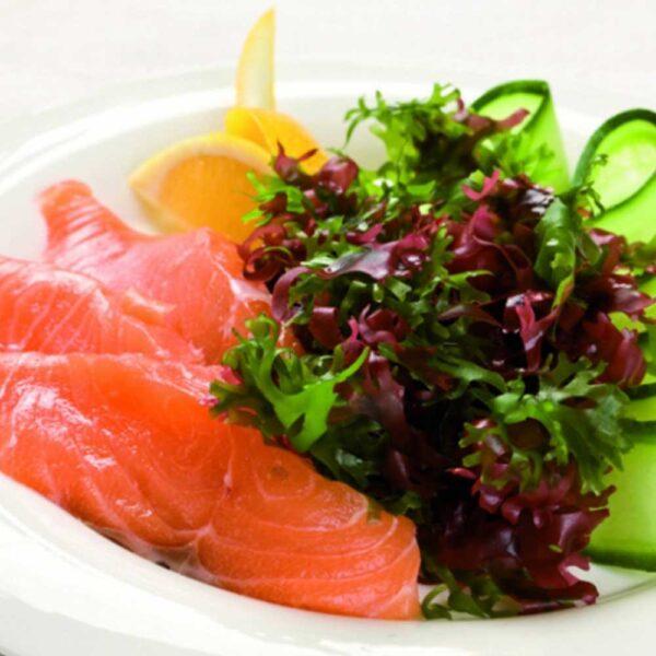 «Сашими с лососем» 90 гр. в кафе-баре Черри Одинцово