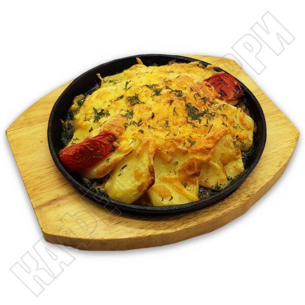 Картофель запеченный с курицей в кафе баре Черри Одинцово