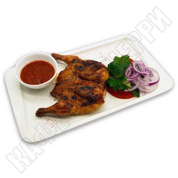 Цыпленок на мангале в кафе баре Черри Одинцово