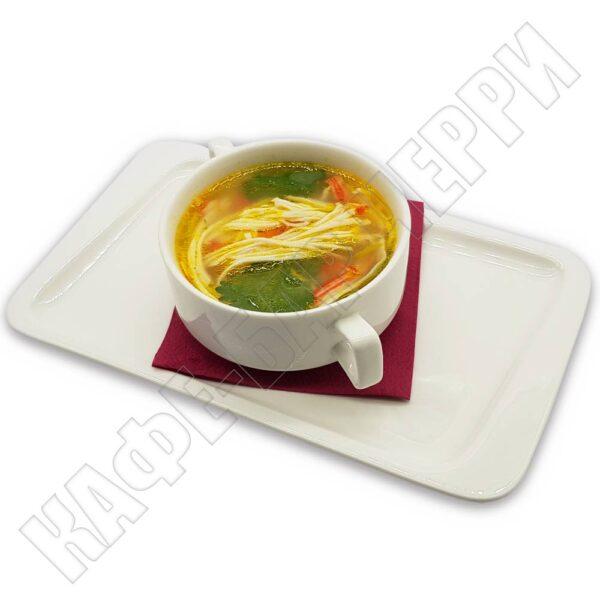 Суп из снежного краба в кафе баре Черри Одинцово