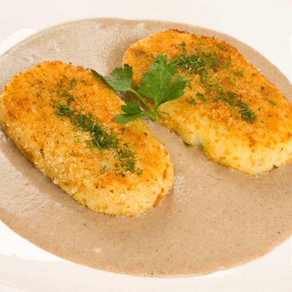 Постное меню в кафе Черри Одинцово. Зразы картофельные 250/100 гр.